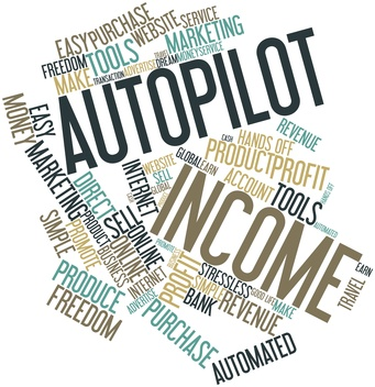 AutoPilot Your Income Word Cloud