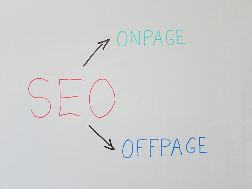 The Value of SEO is from both On page and Off page SEO