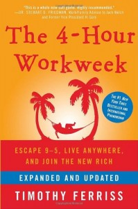 Book cover for The 4-Hour Workweek book review